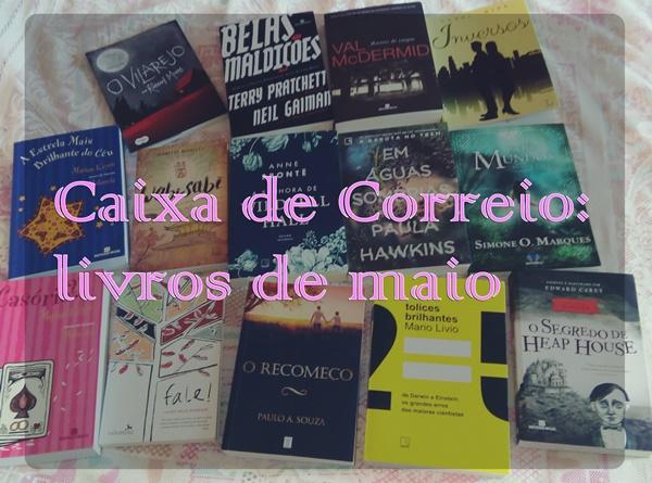 maio, livros, blog-literário, vídeo, caixa-de-correio