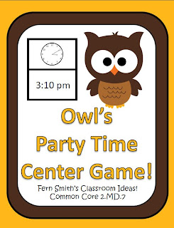 Owl's Party Time Center Game