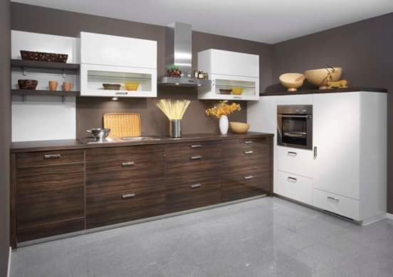 contoh model kitchen set