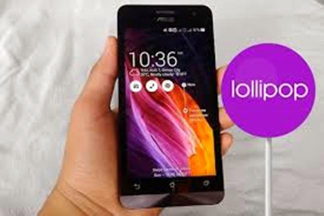 Tutorial Cara Upgrade Android KitKat ke Lollipop 5.0 Asus ZenFone 4,5,6 Tanpa Root