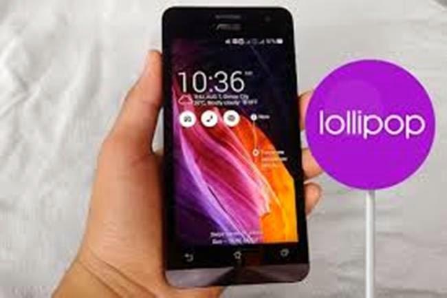 Tutorial Cara Upgrade Android KitKat ke Lollipop 5.0 Asus ZenFone 4,5,6 Tanpa Root