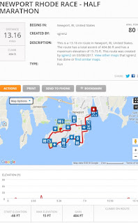 Select pic for mapmyrun details