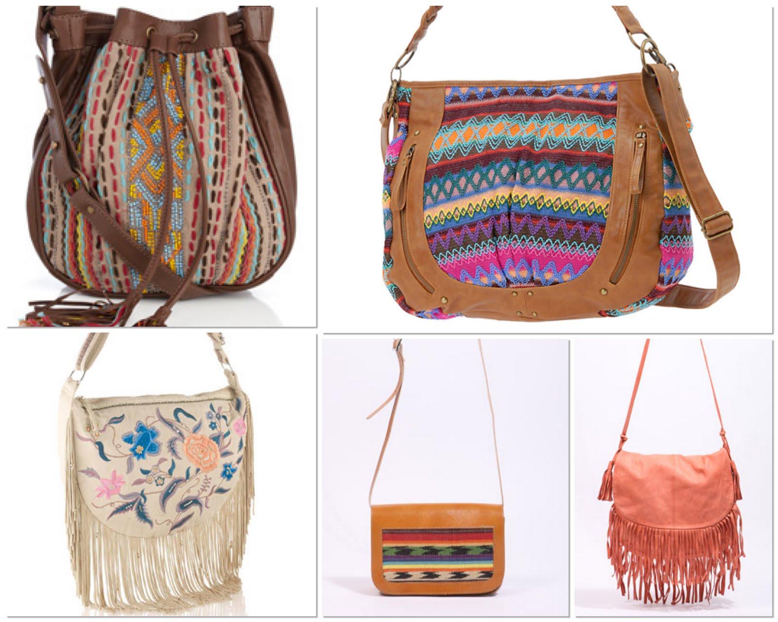 ba4aba77de10 High End Done High Street  Versace Aztec Fringe Bag