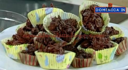 Domenica In - Rose di cioccolato ricetta Parodi