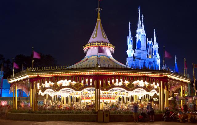 Prince Charming Regal Carousel na Disney em Orlando