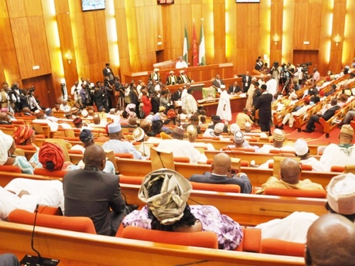 Senators Stage a Walkout in Protest Over Amendment of CCB Act to Protect Saraki as It Passes 2nd Reading
