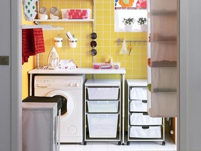 Lindos dise os de lavander as en casa colores en casa for Muebles para lavanderia de casa
