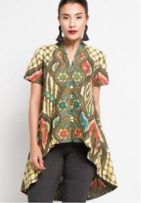 Desain Baju Batik Terpopuler