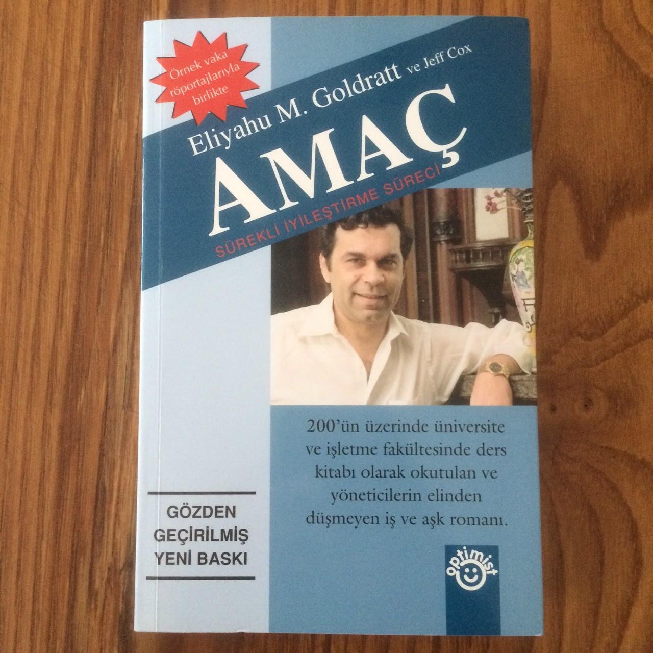 Amac - Surekli Iyilestirme Sureci (Kisitlar Teorisi) (Kitap)