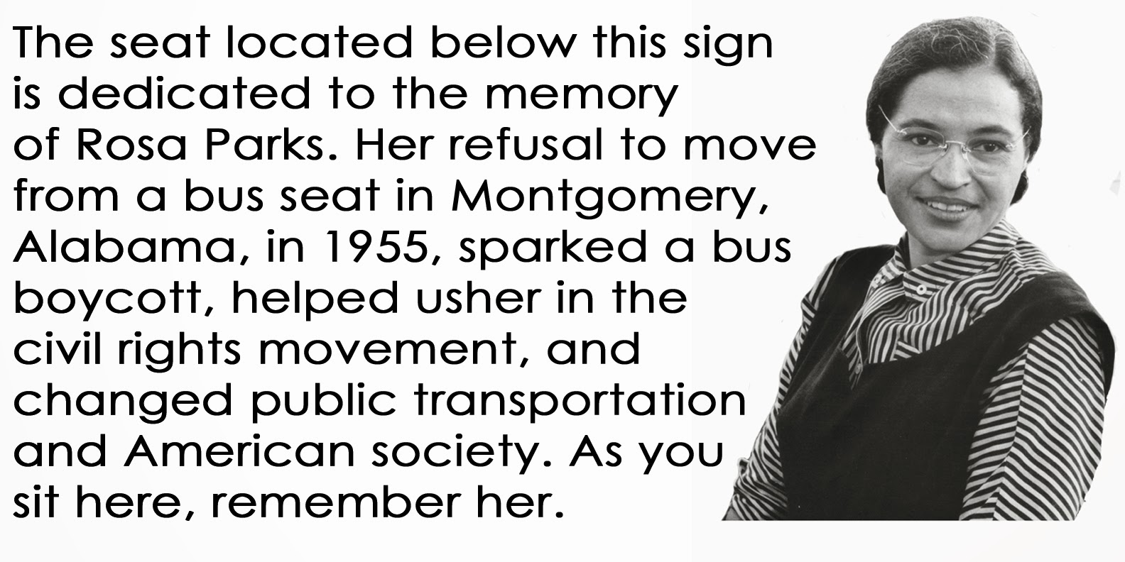 Quotes On Rosa Parks Bus Quotesgram