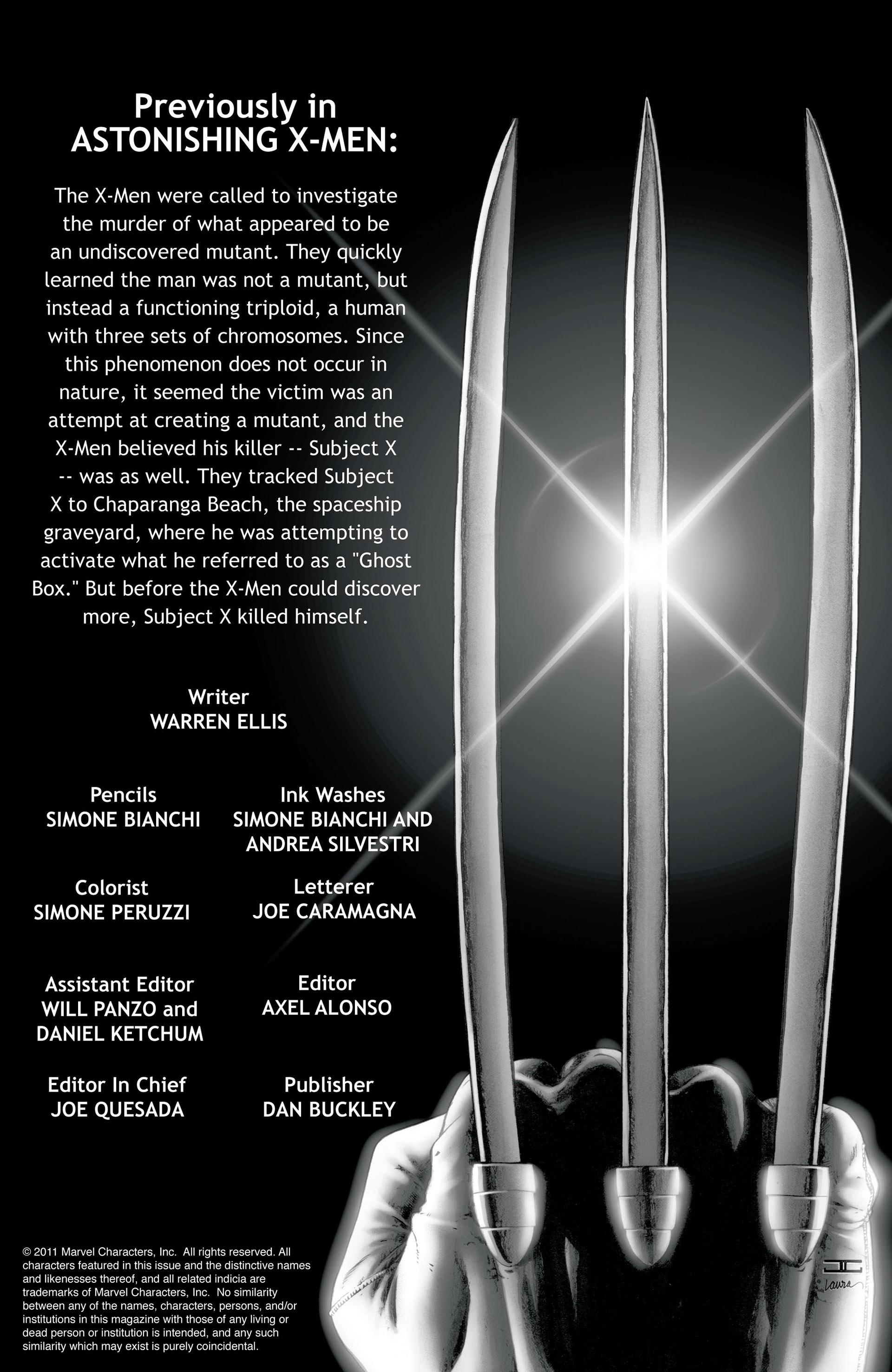 Read online Astonishing X-Men (2004) comic -  Issue #27 - 2