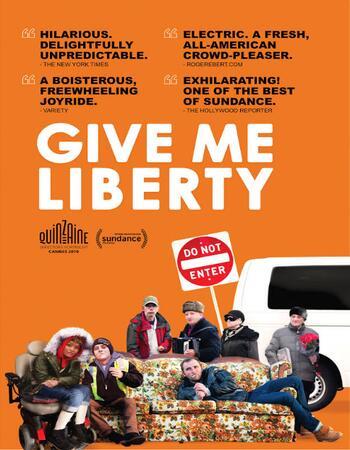 Give Me Liberty 2019 English Movie 720p WEBRip 800MB