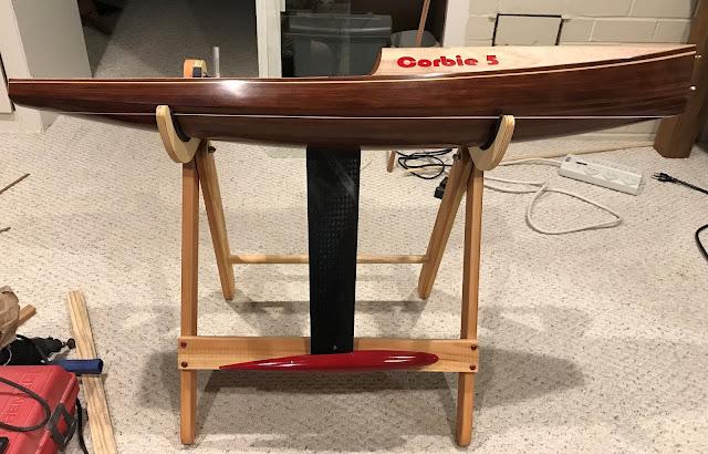 Corbie 5 IOM R/C Wooden Sailboat