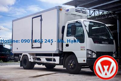 Xe tải đông lạnh Isuzu QKR55H 1.9T