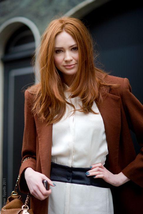La moda en tu cabello color de cabello pelirrojo cobrizo - Bano de color pelirrojo ...