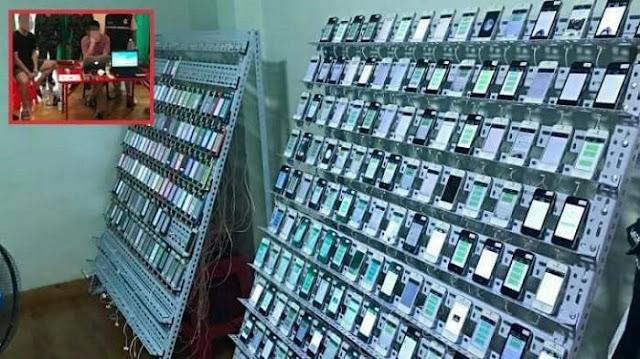 Grebek 'Pabrik Like', Polisi Sita 400 HP dan 300.000 Kartu SIM, Tak Disangka Begini Pengakuan Pelaku