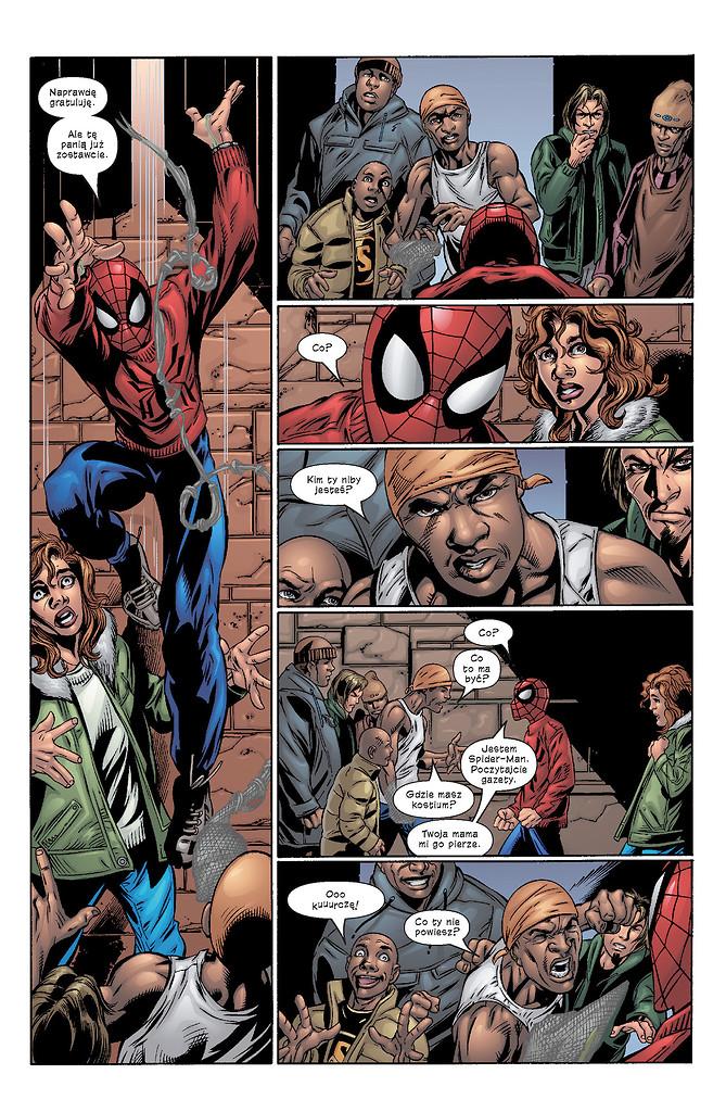 Ultimate Spider-Man tom 4 przykładowa strona