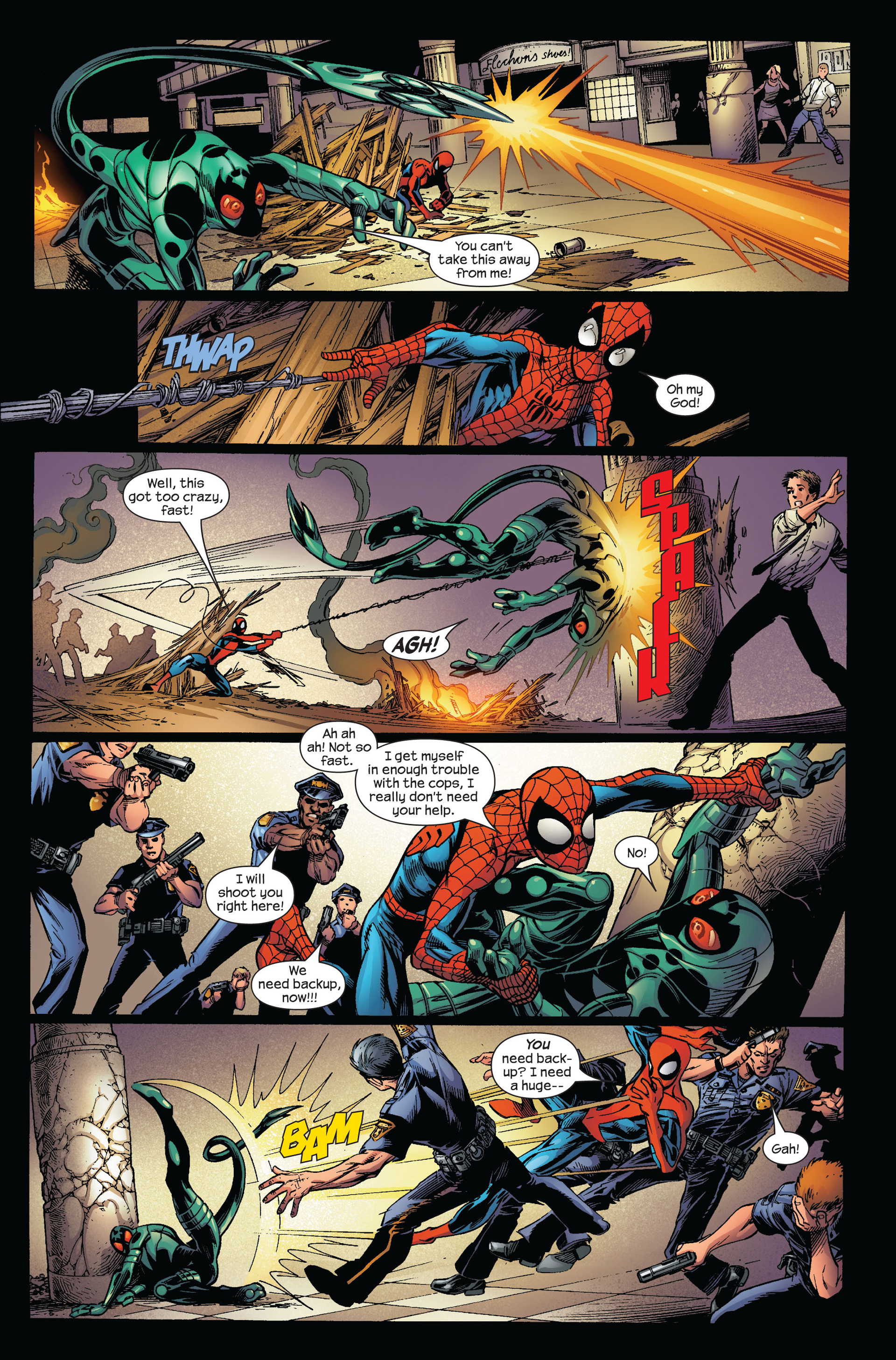 Read online Ultimate Spider-Man (2000) comic -  Issue #97 - 16