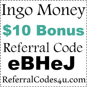 Ingo Money Referral Code| Enter code