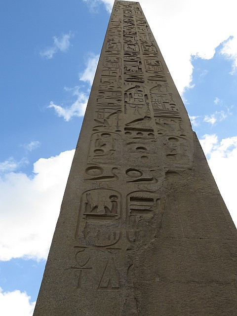 Obelisk Luxor Temple