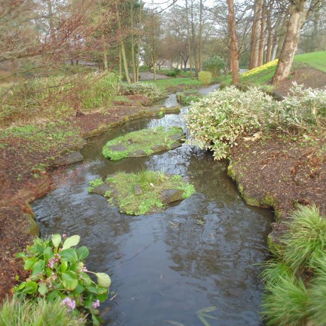 Lister park, botanical gardens