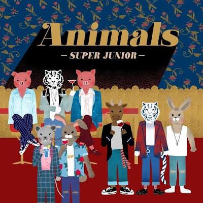 Lirik Lagu Super Junior - Animals [Romanization, Hangul, English, Terjemahan]