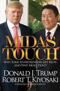 Toque de Midas, el nuevo libro de Robert Kiyosaki y Donald Trump