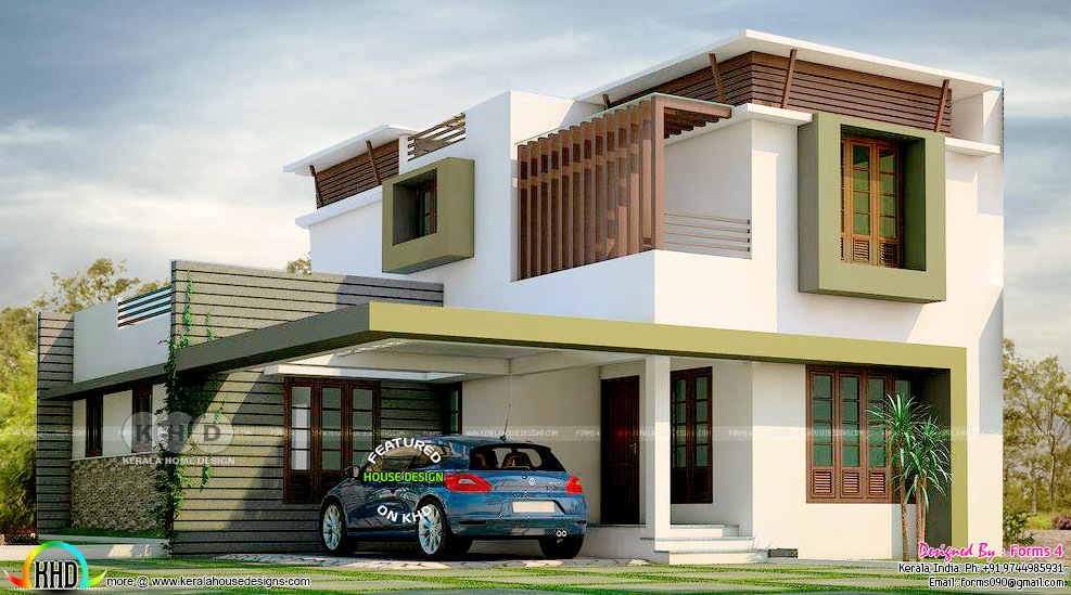 Below 30 lakhs cost estimated contemporary front view ...