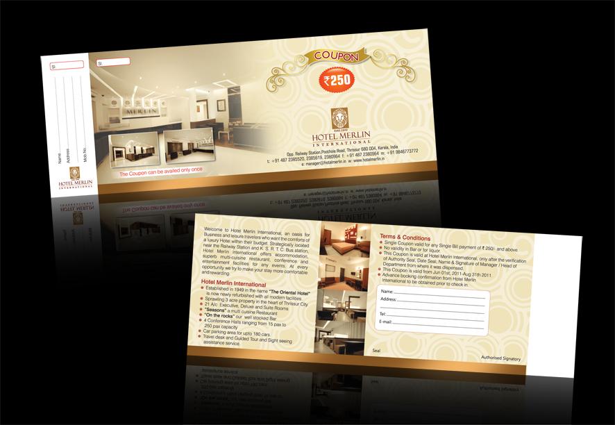 C  O ad-ventures Hotel Discount Coupon Design
