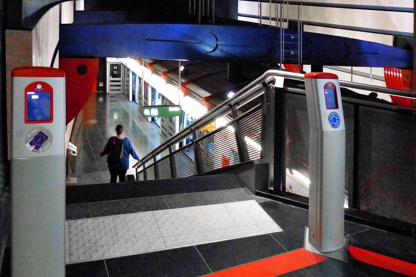 Métro Mercure Tourcoing - Escaliers