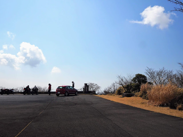 西伊豆スカイライン 土肥駐車場