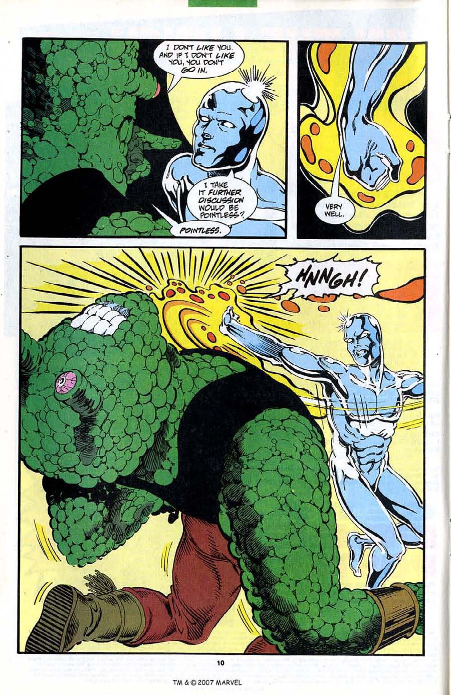 Read online Silver Surfer (1987) comic -  Issue #89 - 12