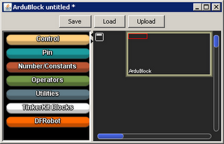 Electronic Schematic: Know ArduBlock Arduino