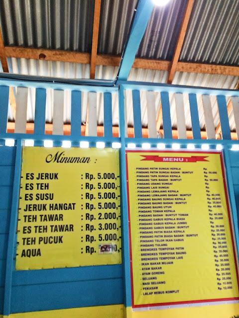ikan pindang mbok yah khas palembang