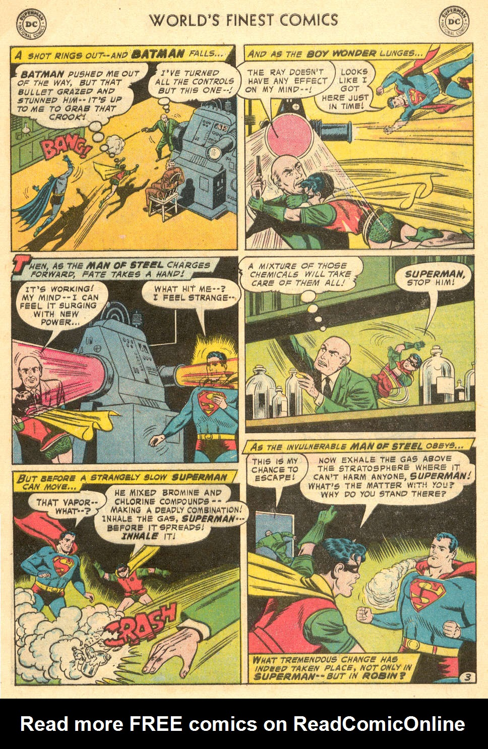 Read online World's Finest Comics comic -  Issue #93 - 5