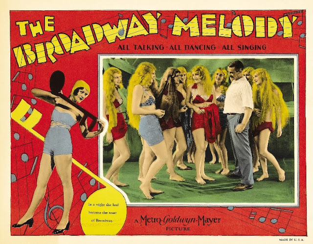 The Broadway Melody 1929 movieloversreviews.filminspector.com poster
