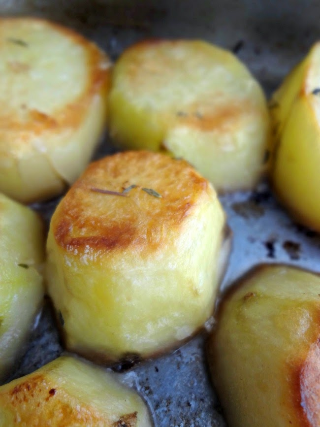 Melting Roasted Potatoes