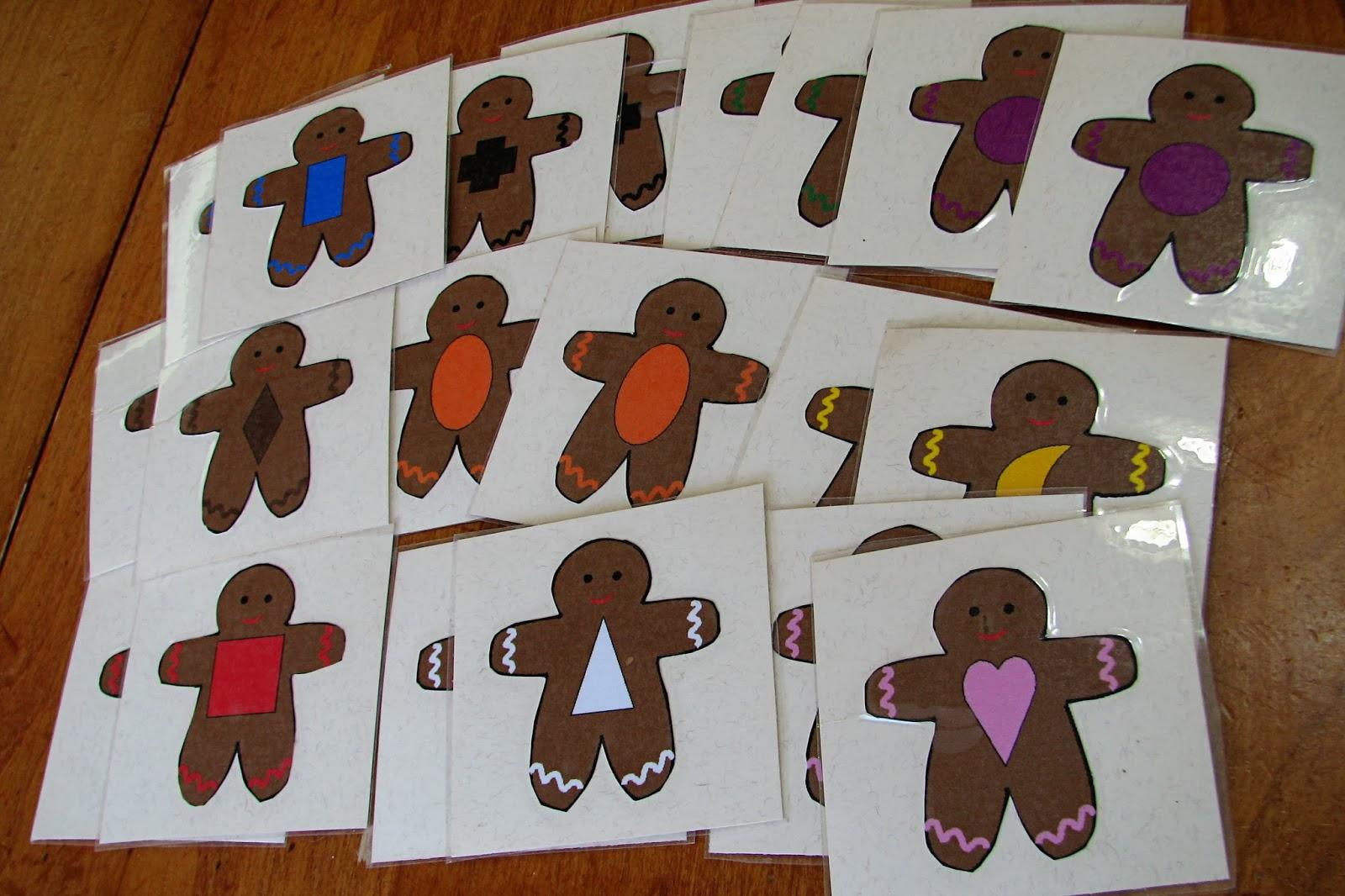 Mommy S Little Helper Gingerbread Activities For
