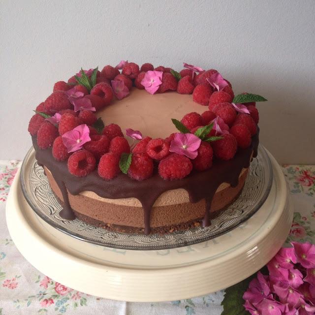 cheesecake dos chocolates