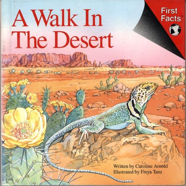 caroline arnold art and books a walk in the desert snap words. Black Bedroom Furniture Sets. Home Design Ideas