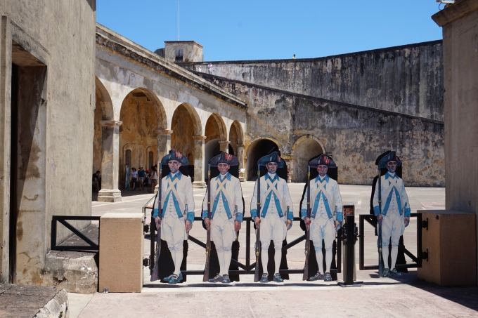 Vanha San Juan linnoitus / Puerto Rico Karibian risteilyllä - kokemuksia lasten kanssa