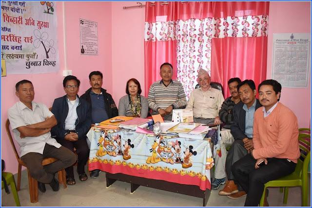 Sabhasad Ratan Thapa return back to Mungpoo for lok sabha election 2019