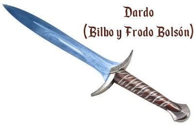 Espada fantástica Dardo