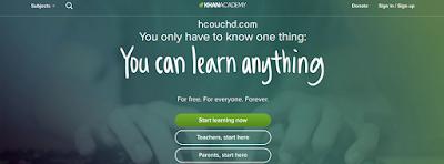 موقع Khan Academy