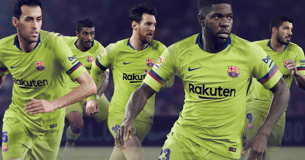 e7c4adc9aff FC Barcelona 18-19 Away Kit Released - Footy Headlines