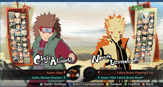 Naruto Shippuden Ultimate Ninja Storm 4 Full Verrsion