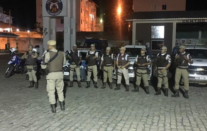 24ª CIPM realiza operação Pelotões em Ação nas cidades de Miguel Calmon e Saúde