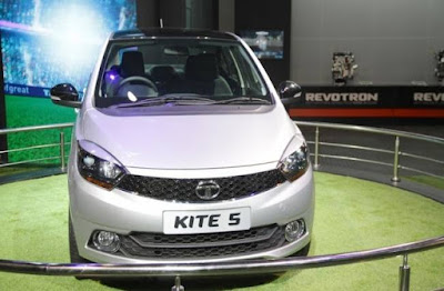 coming soon Tata Kite 5 Compact Sedan auto show Hd Image