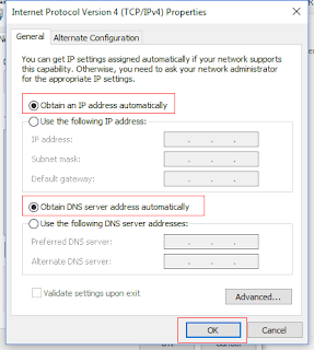 Setting DNS Wifi ID