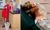 Γυναίκα βρέθηκε στην εντατική όταν ανέμιξε σπιτικά καθαριστικά που δεν έπρεπε... — Δείτε τα καθαριστικά που ανέμιξε.